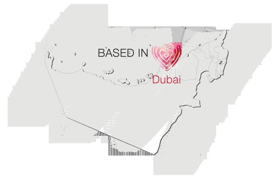 PVW-DXB Map