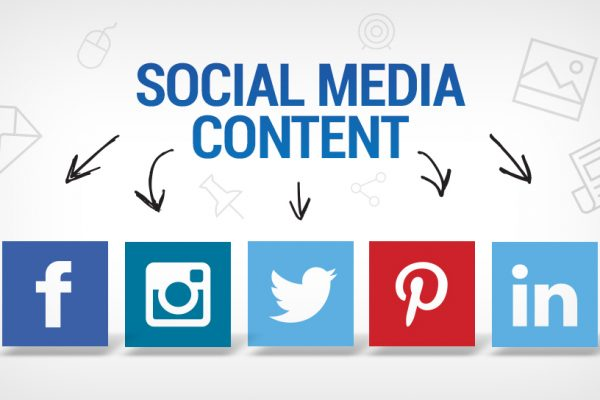 social media content banner